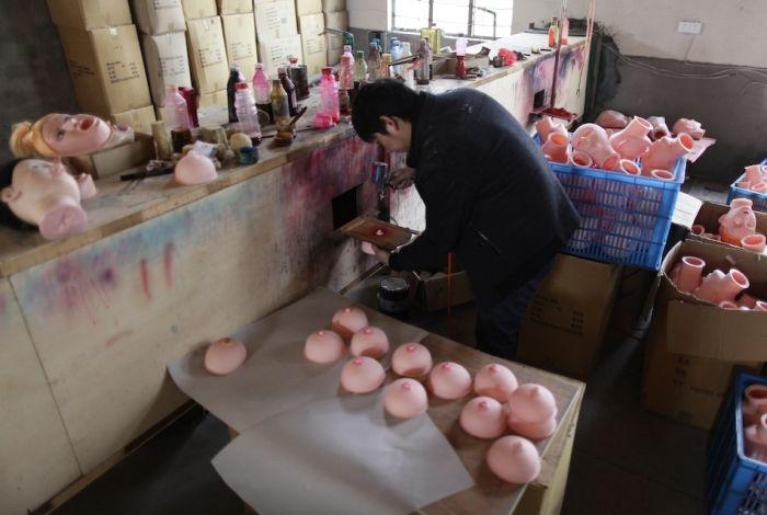 Производство секс-игрушек в Китае