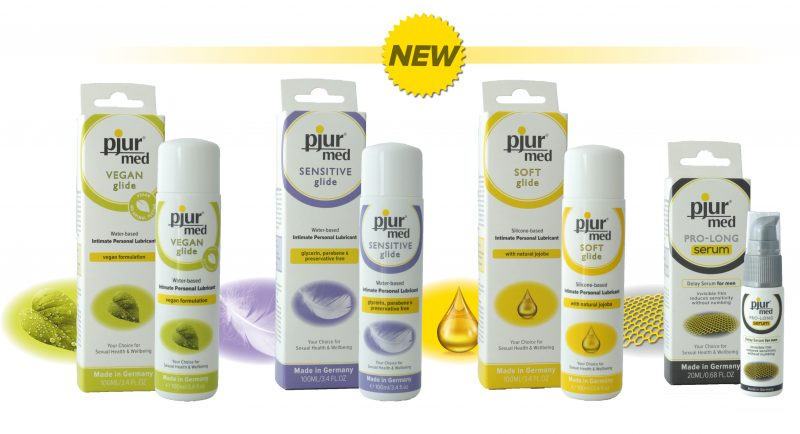 Pjur Med - серия смазок для чувствительной кожи.