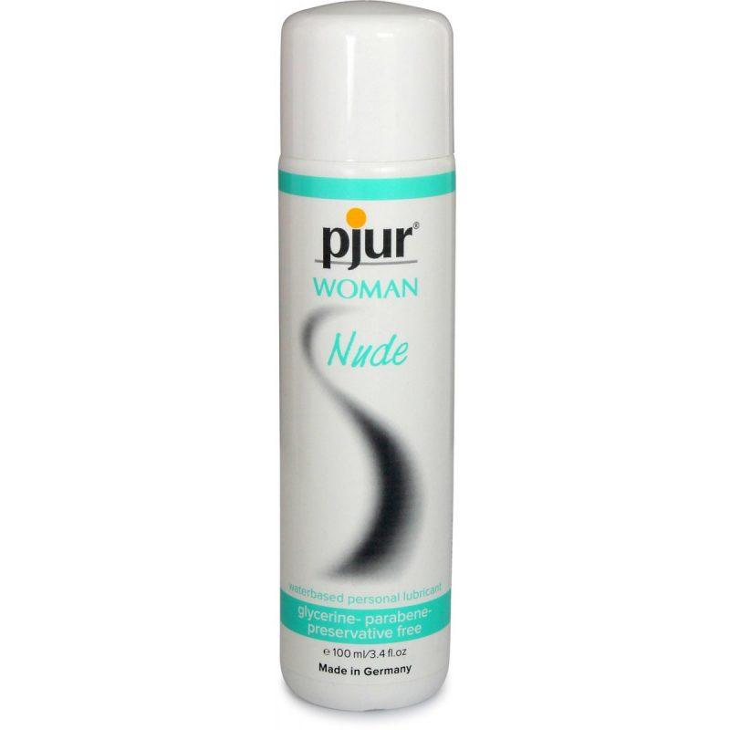 Pjur Nude - смазка для самой чувствительной кожи. Без глицерина и парабенов.