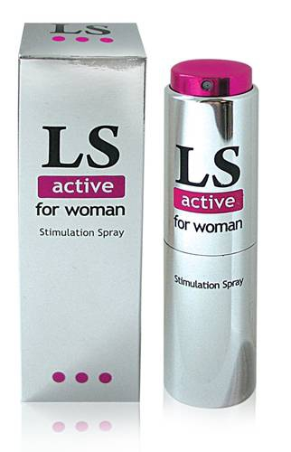 "БИОРИТМ ""Lovespray active"" 18мл Спрей-стимулятор для женщин"