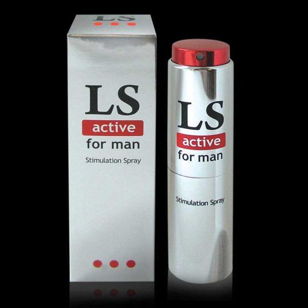"БИОРИТМ ""Lovespray active"" 18 мл Спрей-стимулятор для мужчин"