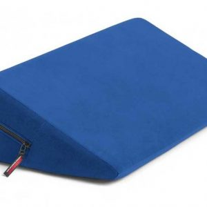 Liberator Retail Wedge Подушка для любви малая, синяя микрофибра