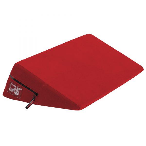 Liberator Retail Wedge Подушка для любви малая. Красная микрофибра