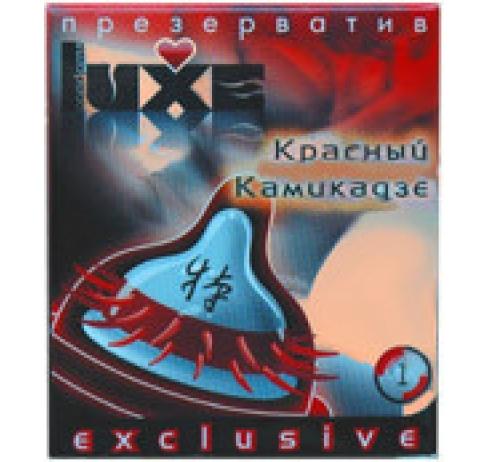 Презерватив Luxe Красный камикадзе с шип №1