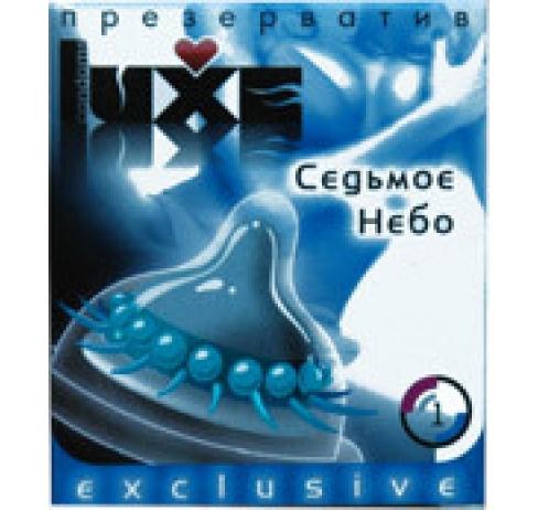 Презерватив Luxe Седьмое небо с пупыр/шип №1