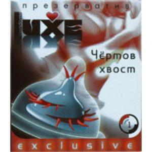 Презерватив Luxe Чертов хвост с шип/усами  №1