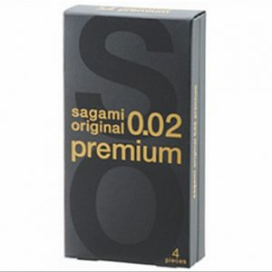 **SAGAMI Original 002 Premium - 4шт Полиуретановые презервативы 0,017 мм