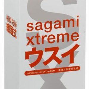 **SAGAMI Xtreme 15шт. Презервативы ультратонкие, латекс 0,04 мм