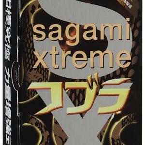 SAGAMI  Cobra 10шт. Презервативы конусообразные супер облегающие, латекс 0,06 мм
