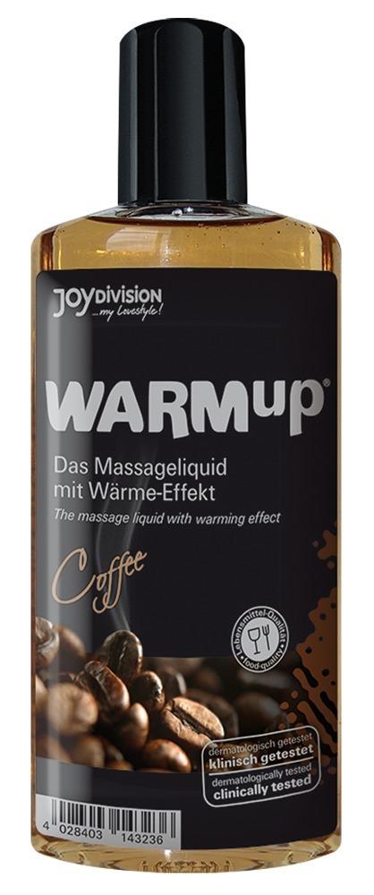 WARMup Кофе 150мл Съедобный разогревающий массажный гель