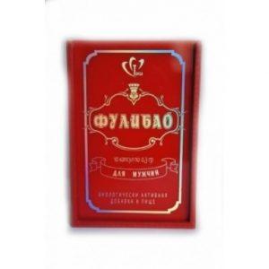 Фулибао 10 капс по 0,3 (деревянная упаковка) БАД