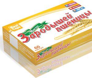 БАД Масло зародышей пшеницы 60 капсул по 0,3г