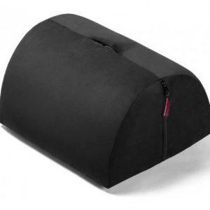 Liberator R-BonBon Toy Mount Подушка для любви с отверстием для секс-игрушки, черный вельвет