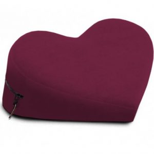 Liberator SE Retail Heart Wedge Подушка для любви,  бордовый винил