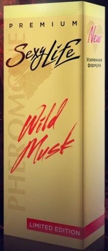 Духи SexyLife муж Wild Musk № 1 10мл Blue de Chanel