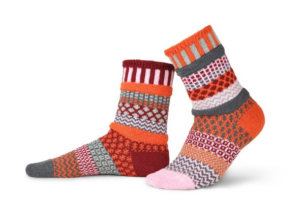 Solmate Socks Носки унисекс Persimmon (р-р 44-46)
