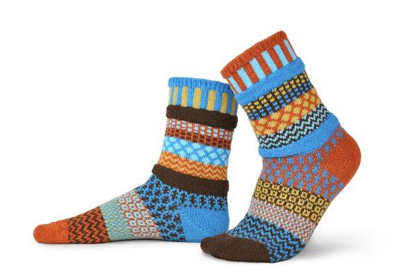 Solmate Socks Носки унисекс Amber Sky (р-р 38-40)