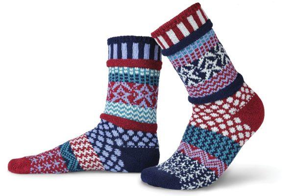 Solmate Socks Носки унисекс Stars and Stripes (р-р 41-43)