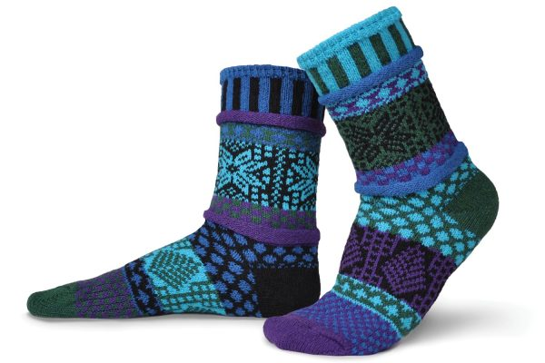 Solmate Socks Носки унисекс Blue spruce (р-р 41-43)