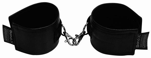 JoyDivision Мягкие наручники Soft-Leather-Bond-X