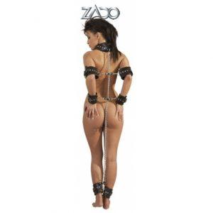 BDSM Оковы кожаные ZADO Complete
