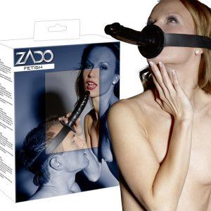 Страпон с креплением для головы ZADO