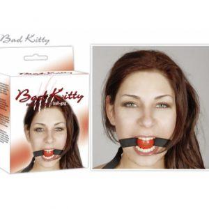 BDSM Кляп Bad Kitty Gag red