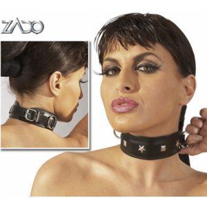 BDSM Ошейник ZADO Leather Collar