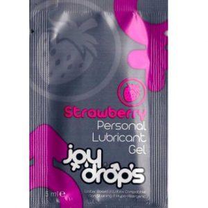 *JOYDROPS Смазка со вкусом клубники (на водной основе) 5 мл