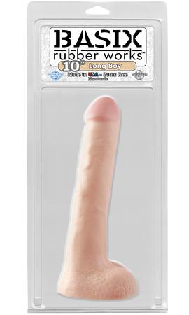 PipeDream Basix Long Boy Фаллоимитатор телесный, L=25.4cм, d=4,8см