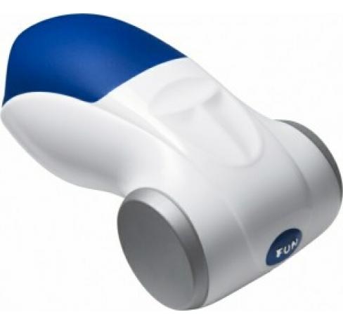FF Мастурбатор COBRA сине-белый (+ адаптре в комплекте)