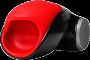 FF Мастурбатор COBRA красно-черный (+адаптер в комплекте)