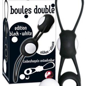 Шарики вагинальные Boules Doubl черные