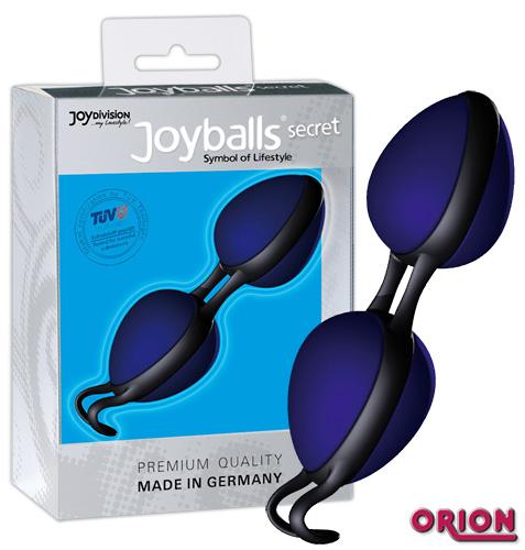 Joyballs secret вагинальные шарики синие со смещенным центром тяжести 85 гр.