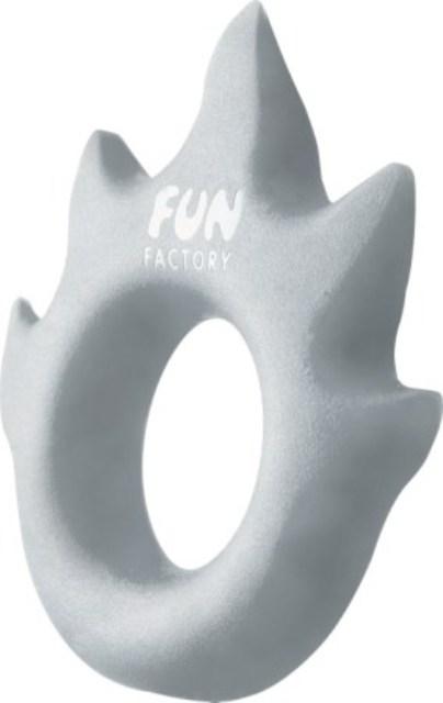 FF Эрекционное кольцо Lovering Flamme серебро