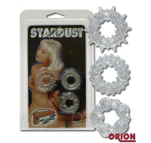Набор колец 3шт Stardust