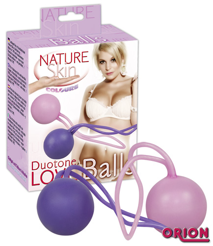 Nature Skin Шарики вагинальные Duotone Balls