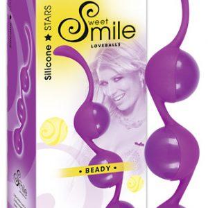 Smile Шарики вагинальные BEADY 3 шт. малиновые