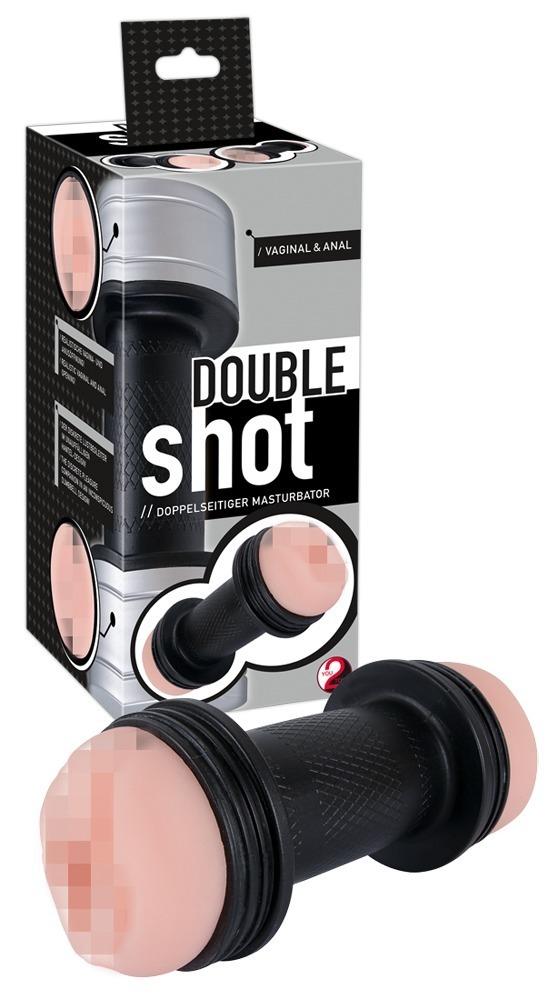Мастурбатор двойно Double Shot