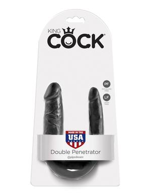 PipeDream  King Cock Double Penetrator Фаллоимитатор реалистик двусторонний черный