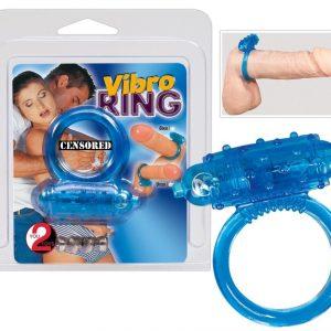 Виброкольцо Vibro Ring Blue