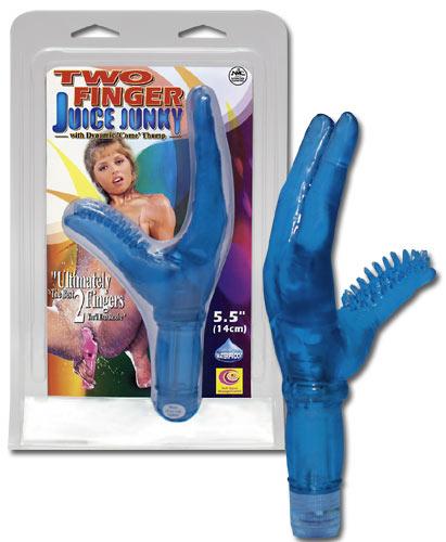Вибратор Two Finger Juice Junky