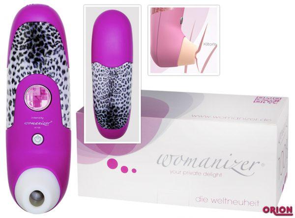 Womanizer пурпурный Бесконтактный клиторальный стимулятор