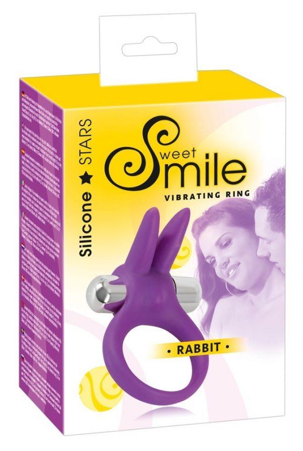 Smile Насадка-кольцо для пениса Rabbit