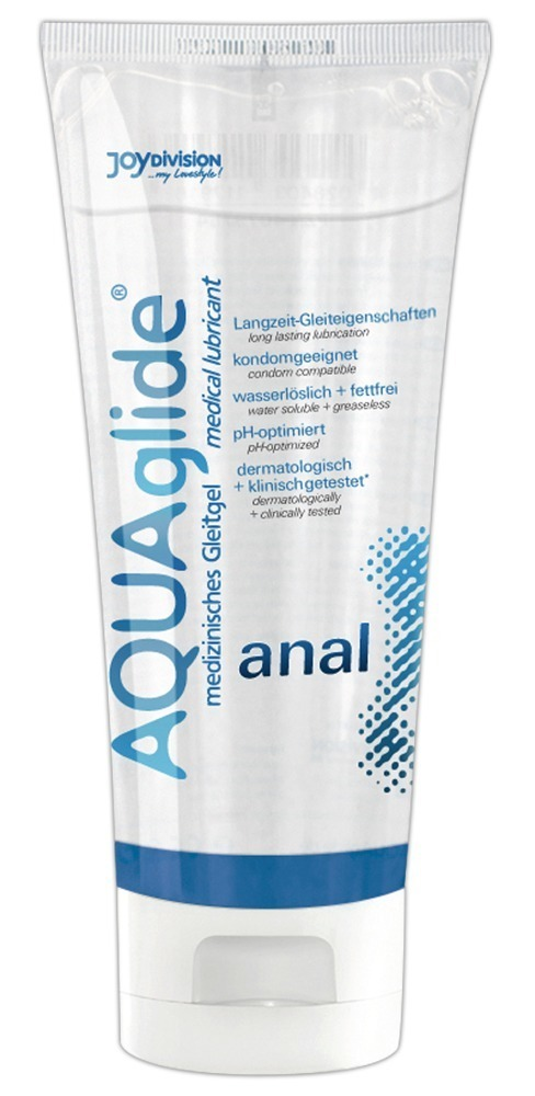 AQUAglide anal 100мл Анальная смазка на водной основе