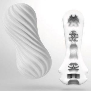TENGA FLEX Мастурбатор Silky White