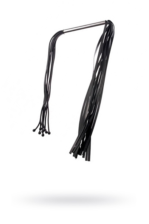 Плеть Sitabella латексная черная двухсторонняя,89 см