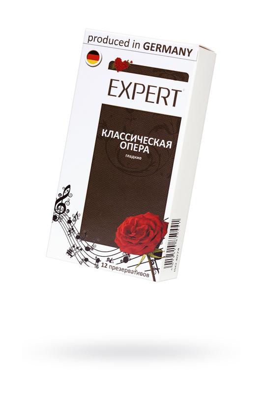 Презервативы Expert ''Классическая опера'' №12, классика, 12шт