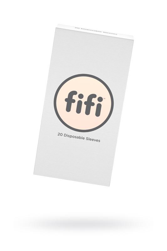 Комплект насадок для мастурбаторов FIFI MALE №20, латекс, 20 шт.