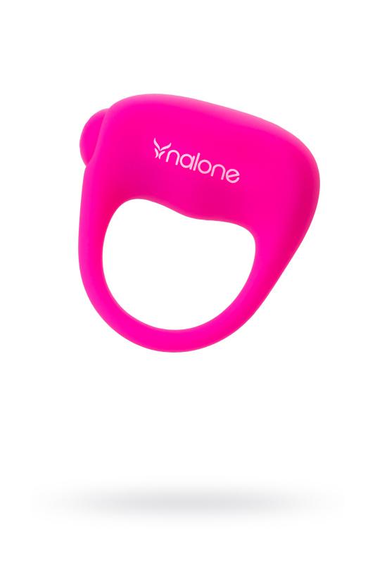 Эрекционное кольцо на пенис Nalone Ping, Силикон, Розовый, Ø 4 см